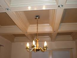 pleasant coffered ceiling bedroom for layered tray ceiling in 2