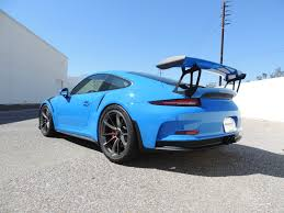 voodoo blue porsche dealer inventory 2016 pts voodoo blue gt3 rs w delivery miles