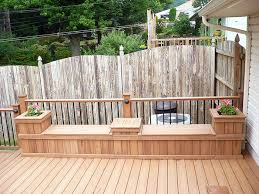 Deck Wood Bench Seat Plans by 17 Best Deck Bench Images On Pinterest Deck Benches Terrace And