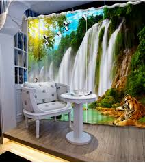 waterfall home decor top classic 3d european style nature waterfall scenery fashion 3d