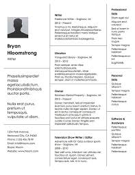 Job History Resume by 100 Free Professional Cover Letter Examples Cover Letter Example