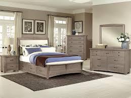 Bedroom Furniture Oak Veneer Driftwood Oak Finish Bedroom Barbos Furniture