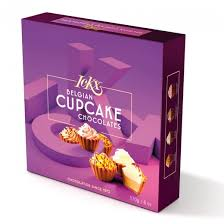 cupcake gift baskets make your own ickx belgian 9 chocolate cupcakes gift box 170g