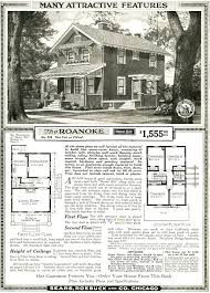 Sears Craftsman House The Sears Roanoke As Shown In The 1920 Sears Modern Homes Catalog