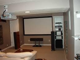 brilliant idea for small basement as media room decorations