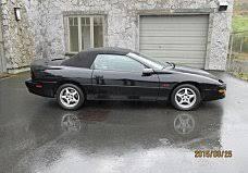 1996 convertible camaro 1996 chevrolet camaro classics for sale classics on autotrader