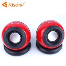 speaker design v300 round design mini speaker for laptop desktop pc computer mp3