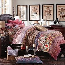 moroccan duvet sets amazon com
