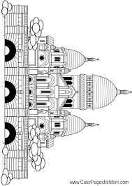 coloring pages for church 28 images bluebonkers churches