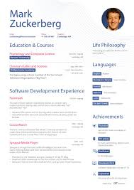 Music Manager Resume What Mark Zuckerberg U0027s Resume Might Look Like If He Never Became A