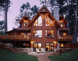 custom made homes custom log cabin homes cavareno home improvment galleries
