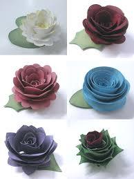 Paper Flowers Video - 82 best paper flower tutorials images on pinterest flowers