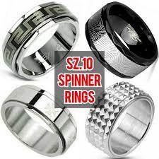 mens spinner rings other four mens spinner rings size 10 poshmark