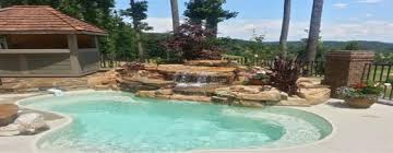 new great lakes in ground fiberglass pool by san juan anthony fiore const inc in englewood san juan pools