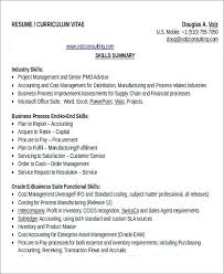 accountant resume format cost accountant resume