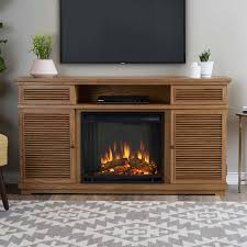 real flame cavallo elm media console fireplace