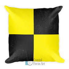 nautical flag nautical flag decorative pillows coastal focus art
