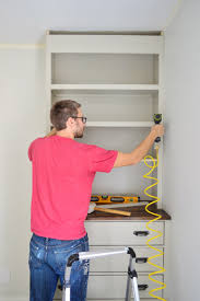 installing bedroom built ins young house love