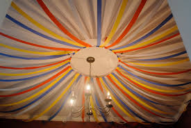 Party Decorations balloons Ceiling And Streamers Walls