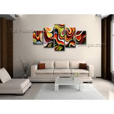 extra large wall art colorful abstract oil painting on canvas large wall art