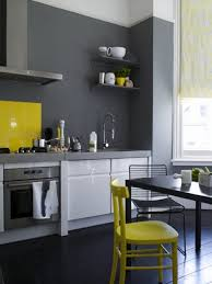 Gray And Yellow Kitchen Ideas What Color Cabinets Go With Yellow Walls Blue Kitchen With Yellow