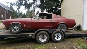 1967 ford mustang fastback project for sale 1967 ford mustang fastback s code 390 project for sale photos