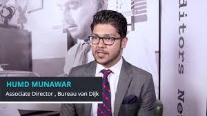 bureau dijk ceo humd munawar associate director bureau dijk at 600minutes