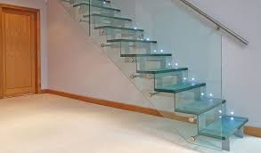 Glass Stairs Design 15 Geometric Staircase Designs