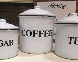 coffee kitchen canisters kitchen canisters etsy