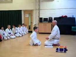 barnes karate belt ceremony youtube