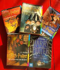 harry potter et la chambre des secrets livre audio lot de 5 livres harry potter l atelier d anges heureux