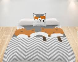 Duvets For Toddlers Fox Bedding Etsy