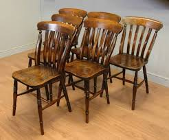victorian kitchen furniture set of six victorian elm country antique kitchen chairs c 1880