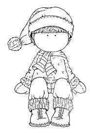 winter hat coloring pages 1722 best dibujos images on pinterest drawings coloring