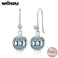 diy drop earrings aliexpress buy 2017 new design 100 925 sterling silver diy