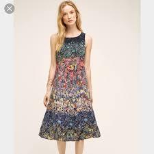 maeve clothing anthropologie dresses skirts maeve silk larkspur midi dress