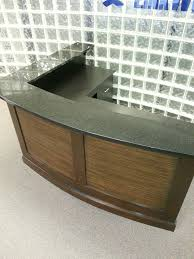Reception Desk Wood by Furniture The Unticket