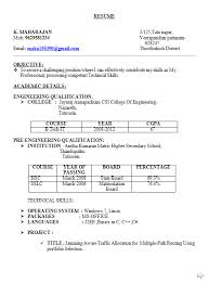 resume sles for freshers download free resume sles for freshers b tech free 28 images 10000 cv and
