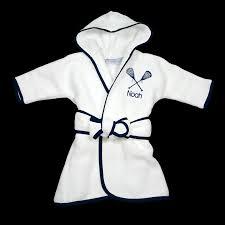 Infant Atlanta Braves Clothes Personalized Infant Robe Lacrosse Custom Baby Gift Infant Robe