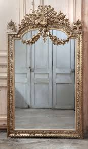 19th century french louis xvi neoclassical gilded mirror mirror