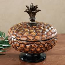 brown kitchen canisters kitchen inspiring pineapple decorations for kitchen ceramic