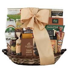 vip gourmet gift basket wine
