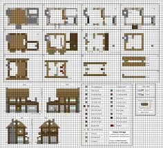 floor plans minecraft poppy cottage medium minecraft house blueprints by planetarymap