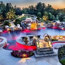Backyard Pool Ideas by Best 25 Dream Pools Ideas On Pinterest Amazing Swimming Pools