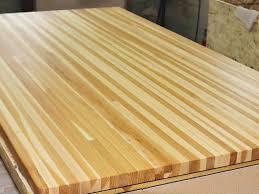 granite countertops birch butcher block countertop home design