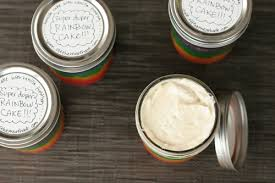 how to make duper rainbow cakes in a jar the hook