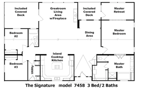 the signature floor plan model 7458 cousin gary homes