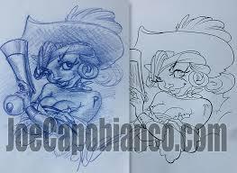 new flash sketch book available joe capobianco