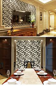 black glass mosaic tile picture more detailed picture about new