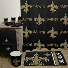 Home Decor New Orleans Nfl New Orleans Saints Decorative Bath Collection Shower Curtain